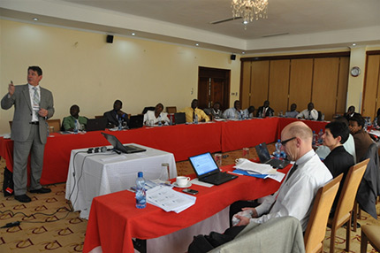 Training and National Enquiry Point Exchange on December 9-11, 2013 Nairobi, Kenya