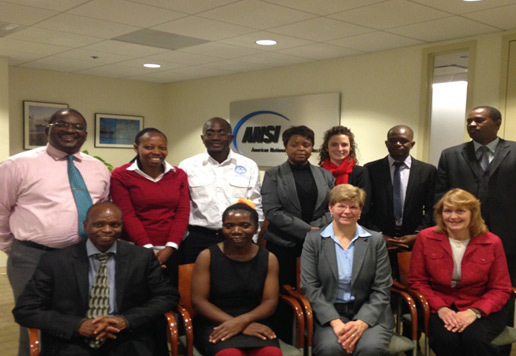 A delegation of eight individuals from three Southern African Development Community (SADC) member countries – Lesotho, Malawi, and Zambia – visited Washington, D.C. from January 13-17, 2014.