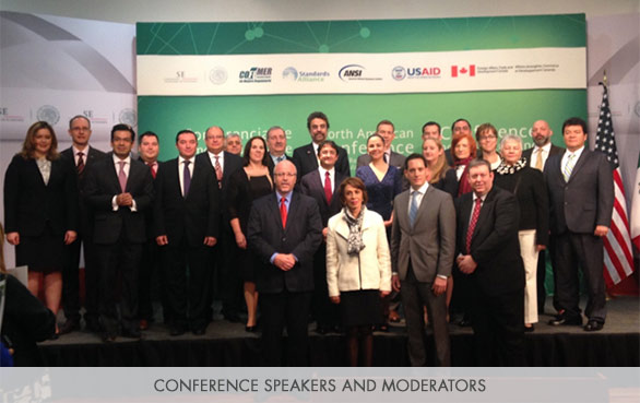 Conference speakers and moderators