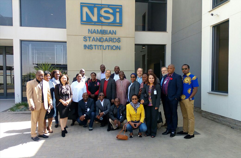 Standards Alliance Sends Leonardo Academy Representative to Present in Namibia